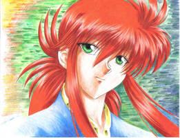 Kurama - Portrait by Yuri-Nikko