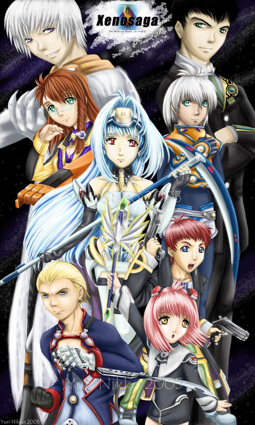 Xenosaga The Main Cast...