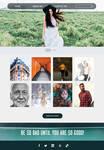 Personal Web Portofolio Template - Arexia