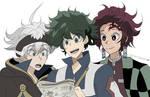Shonen Jump Protags