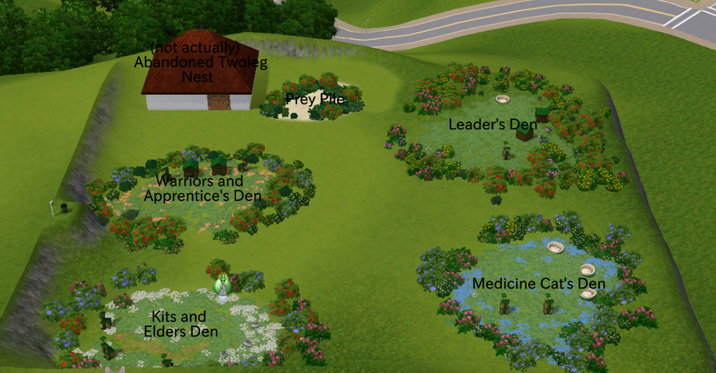 Mod The Sims - The Warrior Cats Legacy Challenge ~ Highly