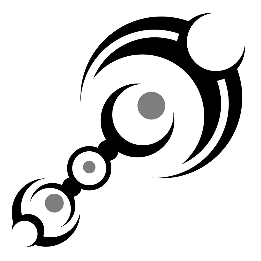 tribal circle rod by huddyjr on deviantart