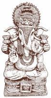 Ganesh Statue by mostlymade