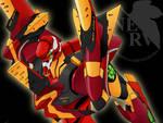 Evangelion unit 02 F-Type
