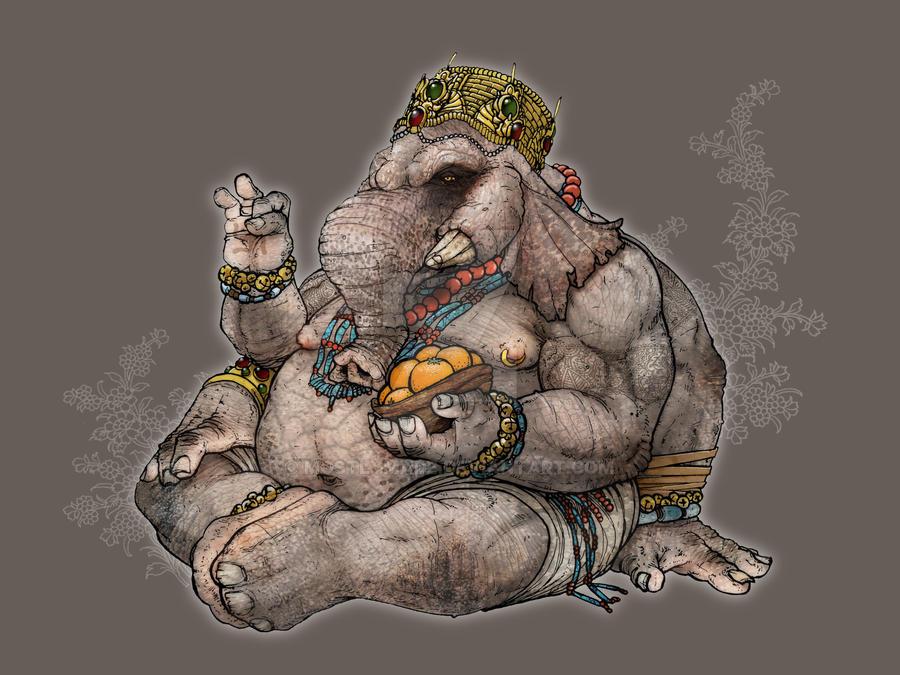 Ganesha by mostlymade