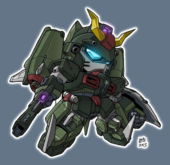 Chaos Gundam by mostlymade