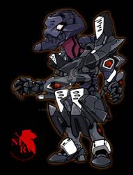 Chibi Eva Unit 03 F-Type