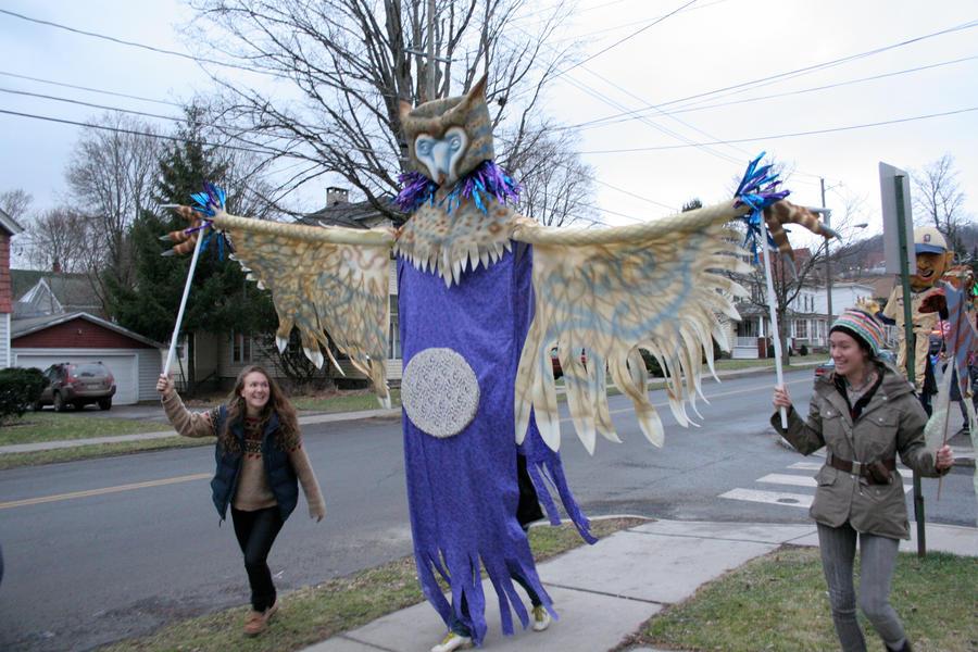Owl Spirit Puppet by mostlymade