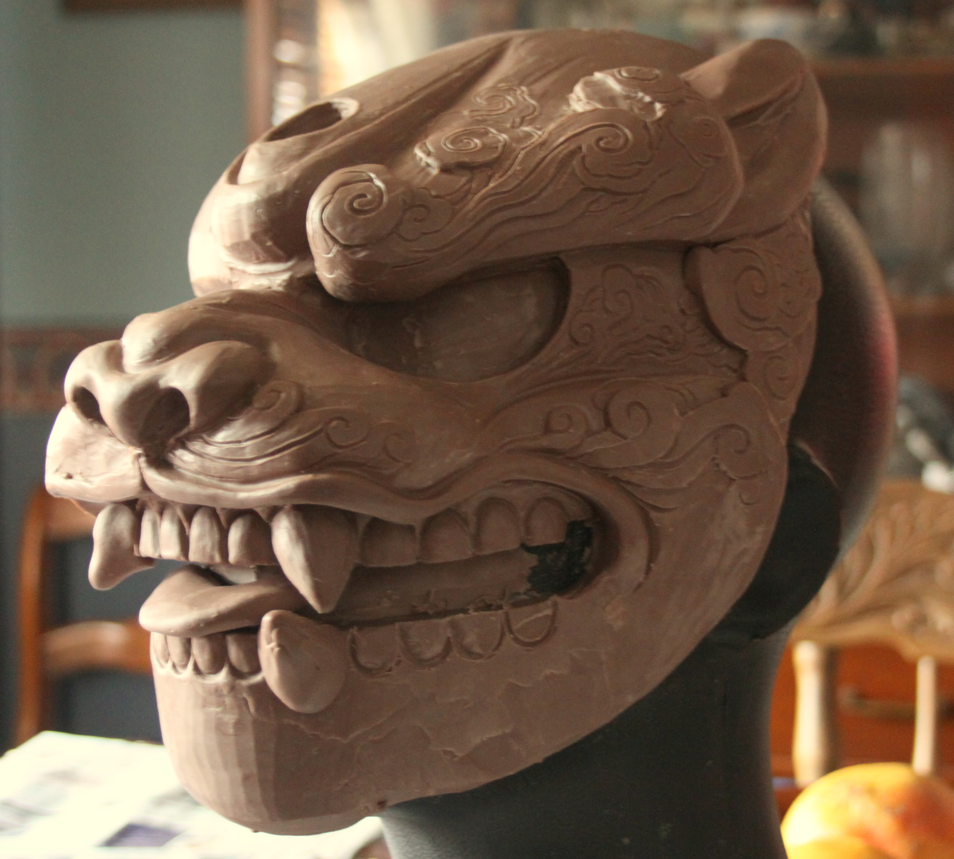 WIP Foo Dog of the Clouds by mostlymade