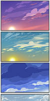 Sky practice