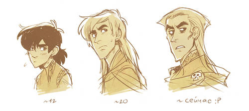 Age progression by Drkav