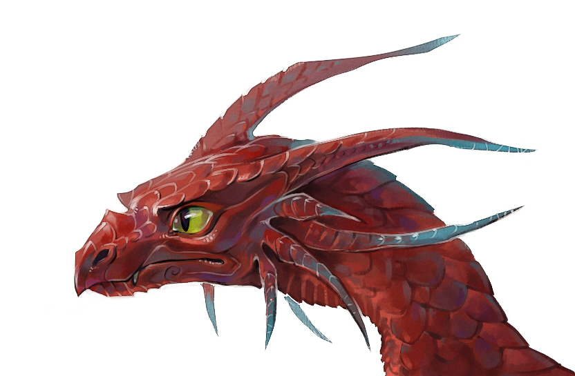 Dragon head by Drkav