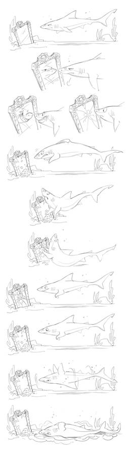 Unlucky Shark