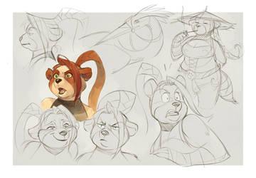 Pandaren by Drkav
