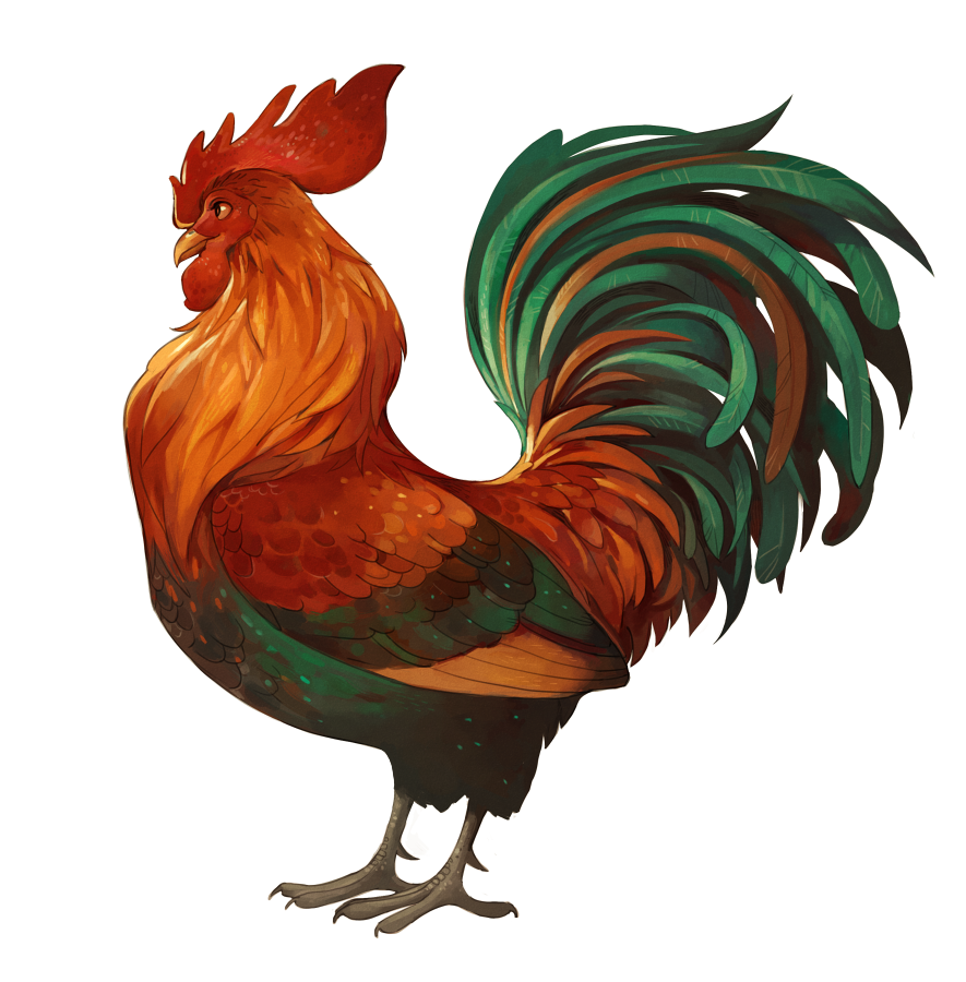 Rooster by Drkav