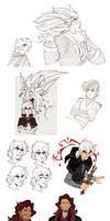 OCs Sketches_7