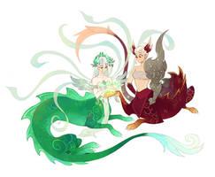Li'sha and Yu'lei