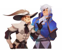 Alicio and Okami
