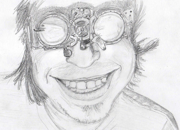 Steampunk Goggles sketch by pyrandon on DeviantArt