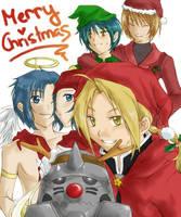 Merry Christmas-FMA,DM, PoT by Luriel