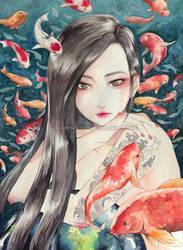 Koi by Luriel