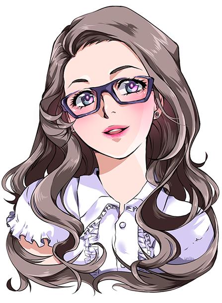 Commission - Portrait by Luriel