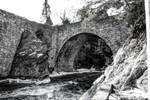 Stone Arch Bridge - Gilsum new Hampshire by AlpoArts