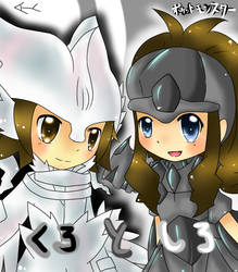 Pokemon Black and White by HurricaneHoshi