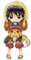 Sample - Strong World Luffy and Chopper