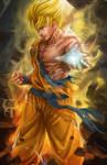 Son Goku Fan art