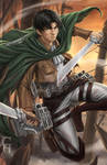 Levi Attack on Titan Fanart