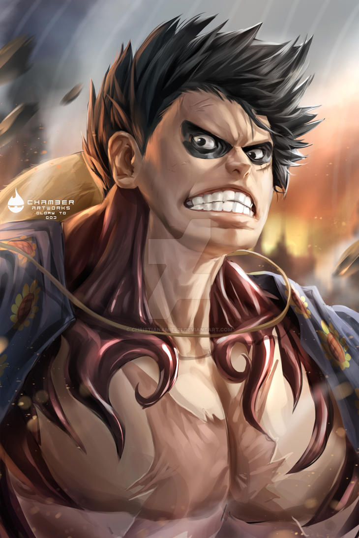 luffy_fourth_gear_practice_by_christiana