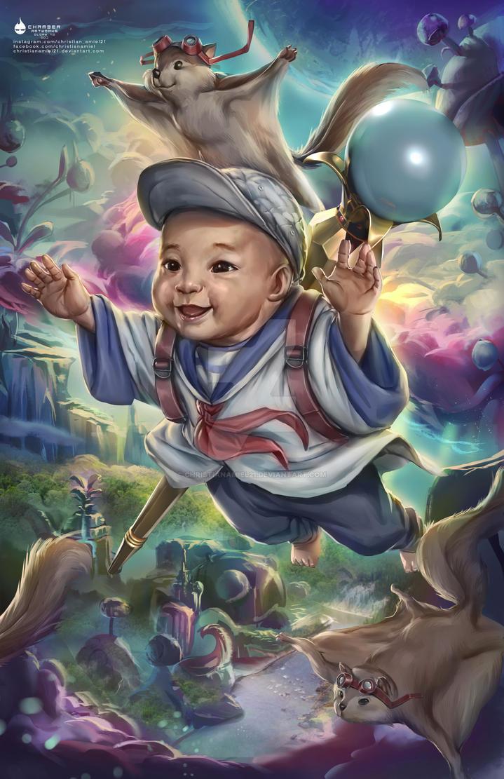 Nemo Fantasy Portrait by christianamiel21