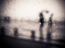 walking in the rain III by Catliv
