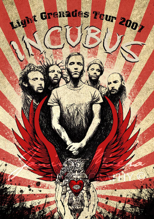 Incubus Tour Poster
