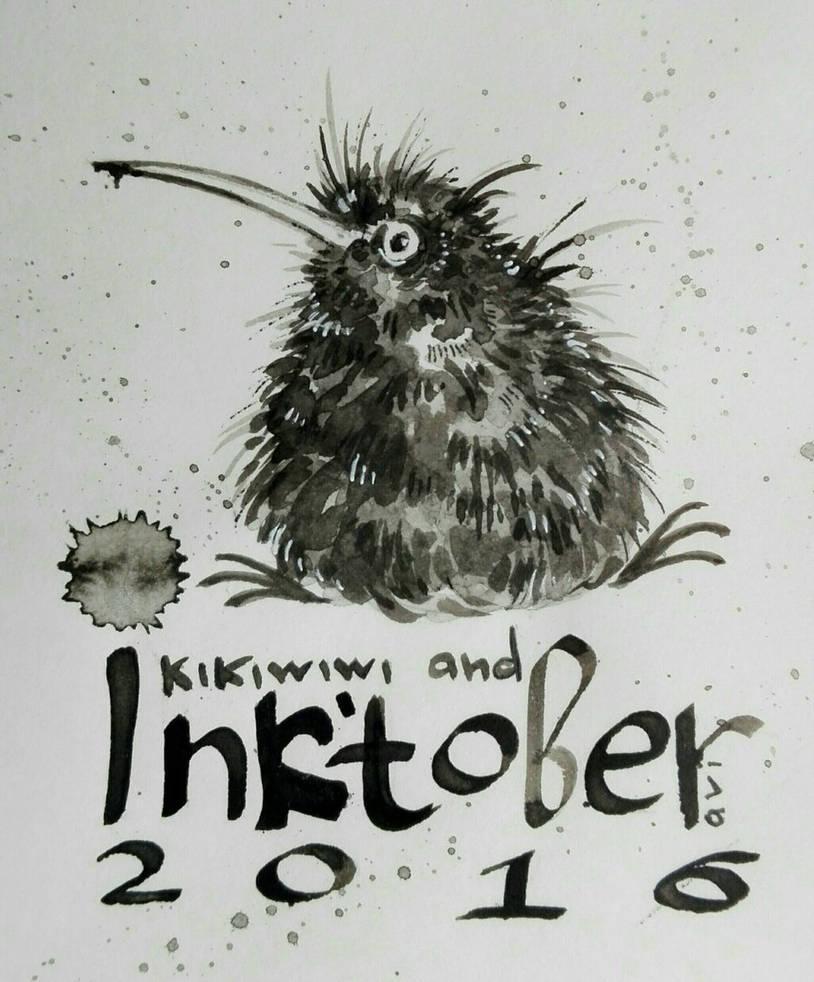 kikiwiw and InkTober 2016 by AviFlatcher