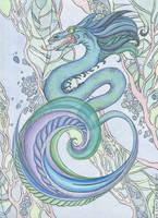 Water dragon by AviFlatcher