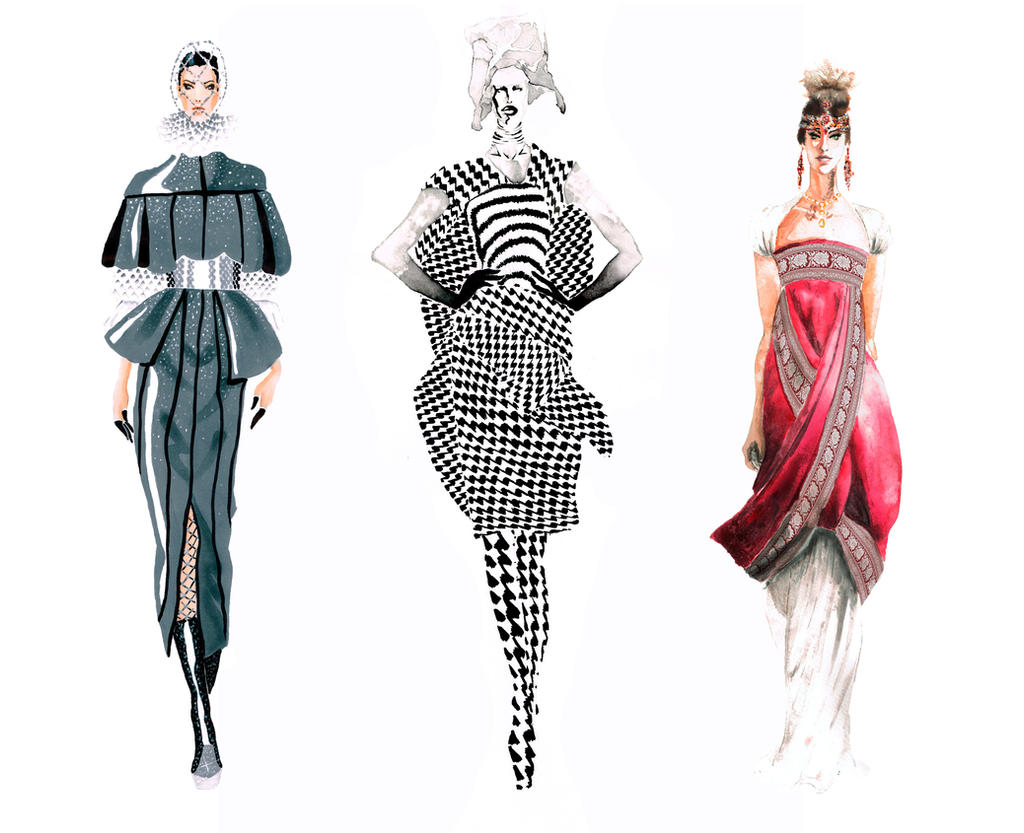 fashion illustration mcqueen mcqueen fashion illustrations by yaaqor on