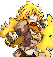 Yang Rwby by littlefoxproductions