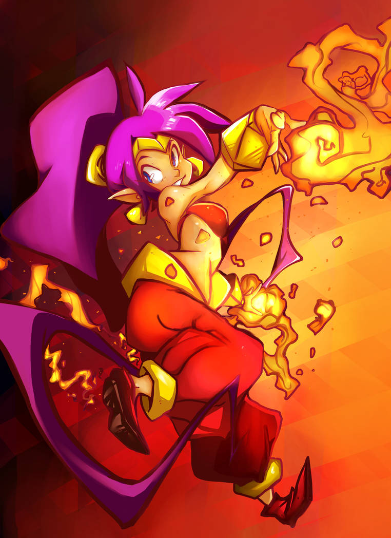 Shantae by littlefoxproductions