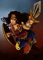 Wonder Woman by littlefoxproductions
