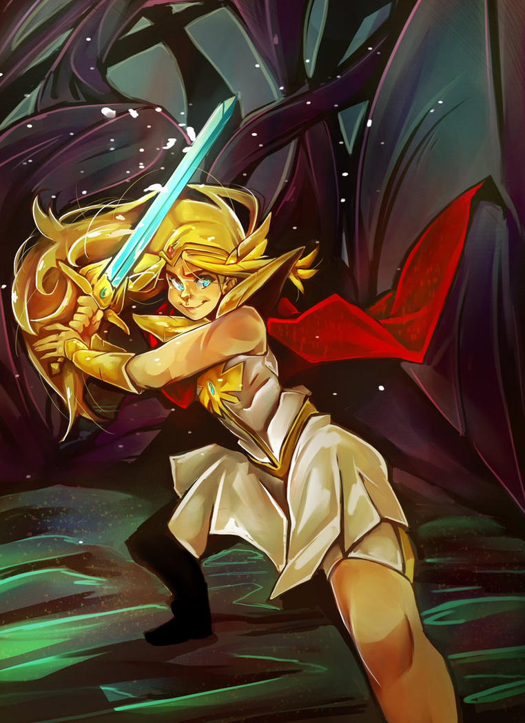 She-ra by littlefoxproductions