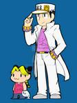 Jotaro and Jolyne go to SeaWorld