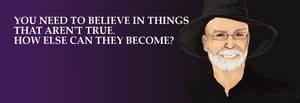 Thank you, Terry Pratchett
