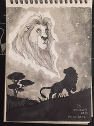 Inktober Day 23 - Remember who you are by Wirrer