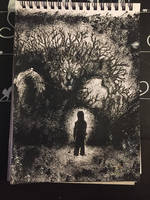 Inktober Day 28 - A Monster Calls by Wirrer