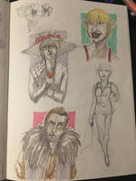 Dragon Age: Inquisition sketches by Wirrer