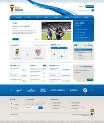 Real Oviedo Website SOLD
