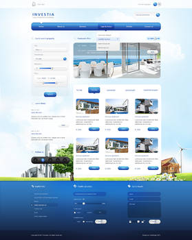 Real Estate website 2