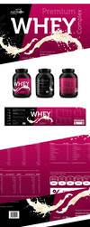 Sport Nutrition Premium Whey label by carl913